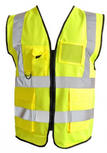 High Visibility Vest With Pockets